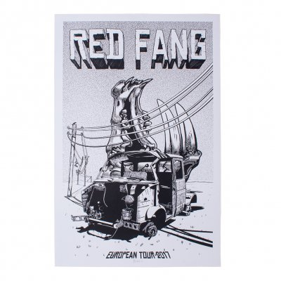 Red Fang - European Tour 2017 | Poster