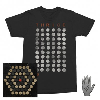 Thrice - Palms | CD + T-Shirt + Pin Bundle
