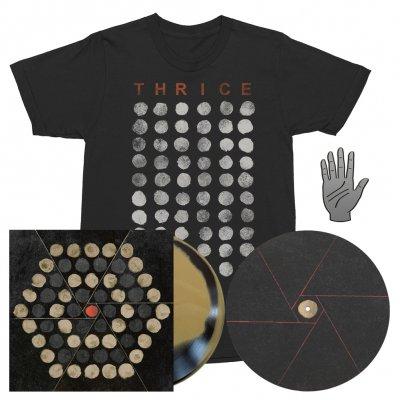 Thrice - Palms | Beer/Black Vinyl + T-Shirt + Slipmat + Pin Bundle