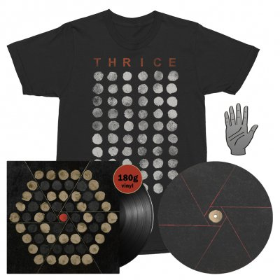 Thrice - Palms | 180g Black Vinyl + T-Shirt + Slipmat + Pin Bundle