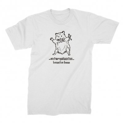 Beastie Boys - Hello Nasty X Naijel Graph Rat White | T-Shirt