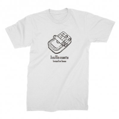 beastie-boys - Hello Nasty X Naijel Graph Sardine Can White | T-S
