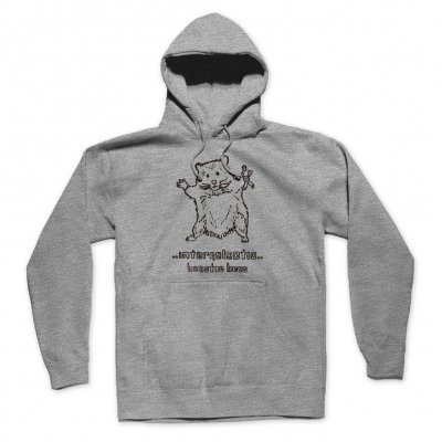 shop - Hello Nasty X Naijel Graph Rat Grey | Hoodie