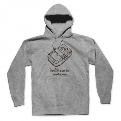shop - Hello Nasty X Naijel Graph Sardine Can Grey | Hood