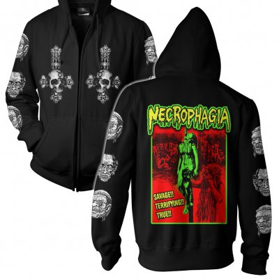necrophagia - Cannibal | Zip-Up