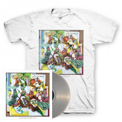 AJJ - Ugly Spiral | Clear Vinyl+T-Shirt Bundle