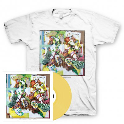 shop - Ugly Spiral | Mustard Vinyl+T-Shirt Bundle