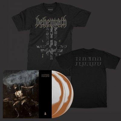 Behemoth - ILYAYD | 2xBronze/Clear Vinyl+LFCR Cross T-Shirt Bundle