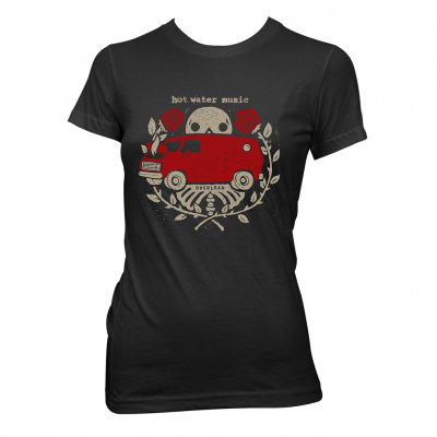 Hot Water Music - Overload | Fitted Girl T-Shirt