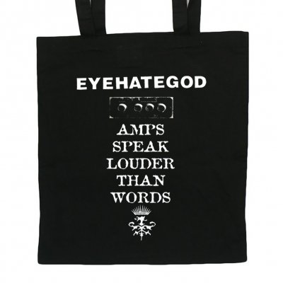 shop - Amps Speak Louder Than Words | Tote Bag
