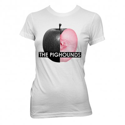 the-pighounds - Apple | Fitted Girl T-Shirt
