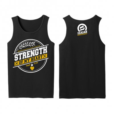izaiah - Strength Of My Heart | Tank Top