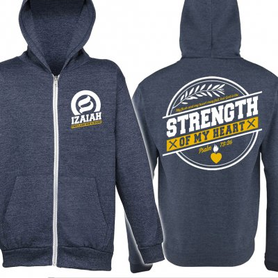 izaiah - Strength Of My Heart | Zip-Hood