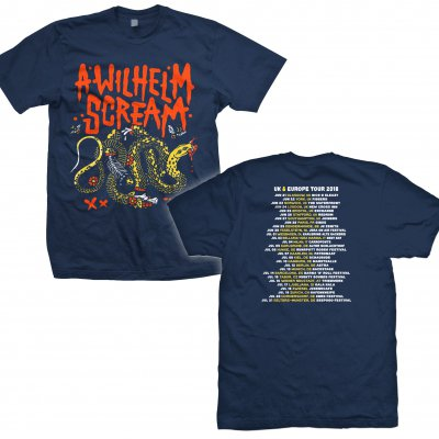 a-wilhelm-scream - Tour Snake | T-Shirt