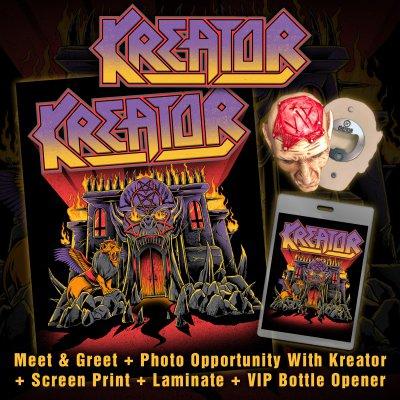 kreator - VIP   Upgrade Tour Bundle
