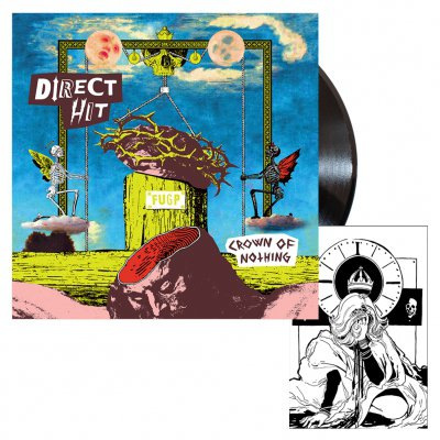 Direct Hit - Crown of Nothing | Black Vinyl Bundle