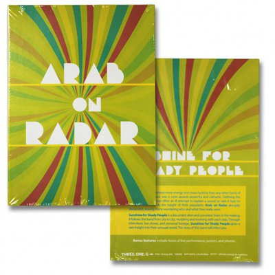 Arab On Radar - Sunshine For Shady People | DVD