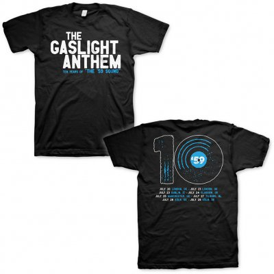 The Gaslight Anthem - 59 Sounds Tour 2018 | T-Shirt
