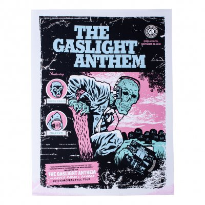 The Gaslight Anthem - Euro Tour Fall 2010 | Poster