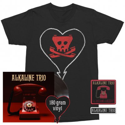 alkaline-trio - Is This Thing Cursed?/Heartskull | Black Vinyl Bundle