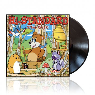 Hi-Standard - The Gift | Black Vinyl