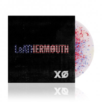 LeATHERMOUTH - XØ | White /w Blue & Red Swirl Vinyl