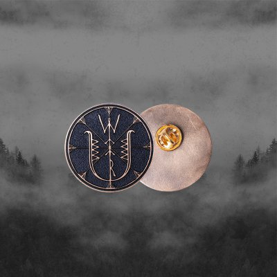 Wolves In The Throne Room - Thrice Woven Gold | Enamel Pin