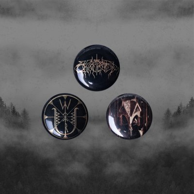 Wolves In The Throne Room - Thrice Woven | Button Set