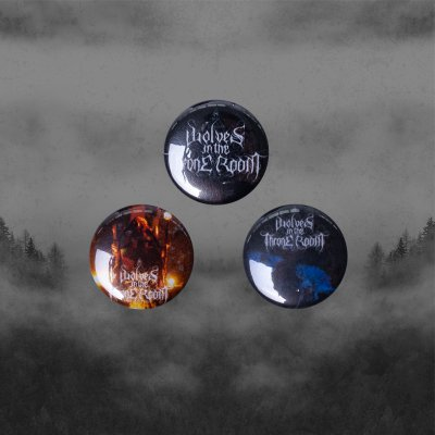 wolves-in-the-throne-room - Black Cascade | Button Set