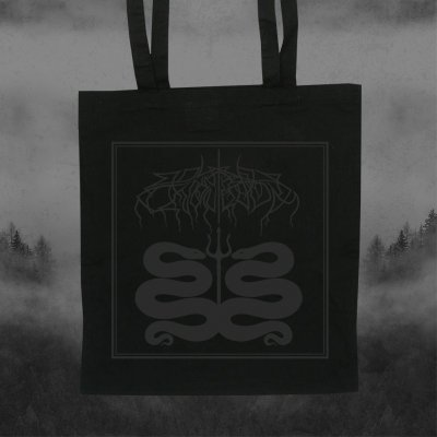 shop - Snakes Black | Tote Bag