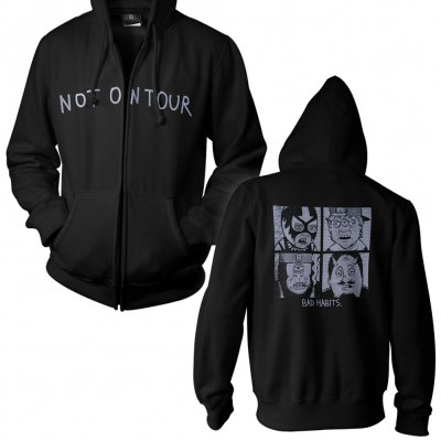 Not On Tour - Bad Habits Cartoon | Zip-Hood