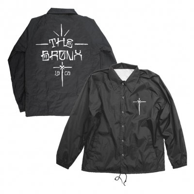 The Bronx - Graf Black | Coach Jacket