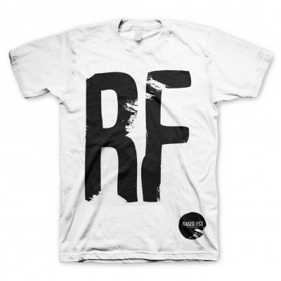 raised-fist - RF-Veil Of Ignorance White | T-Shirt