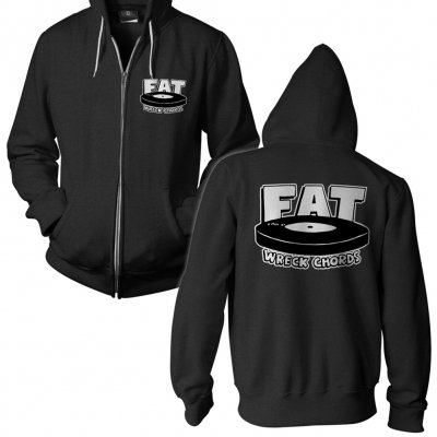 Fat Wreck Chords - Logo Dark Heather | Zip-Hood