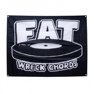 Fat Wreck Chords - Logo Black | Poster Flag