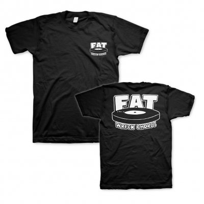 fat-wreck-chords - Logo Black | T-Shirt