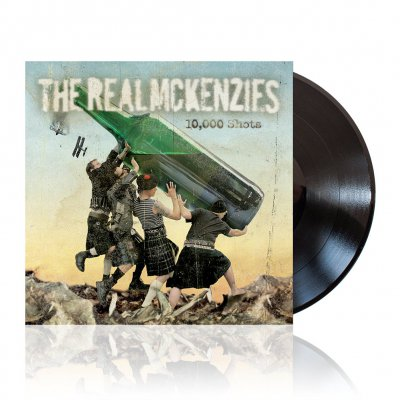 The Real McKenzies - 10,000 Shots | Black Vinyl