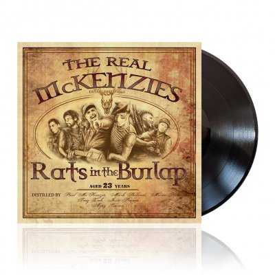 The Real McKenzies - Rats In The Burlap | Black Vinyl
