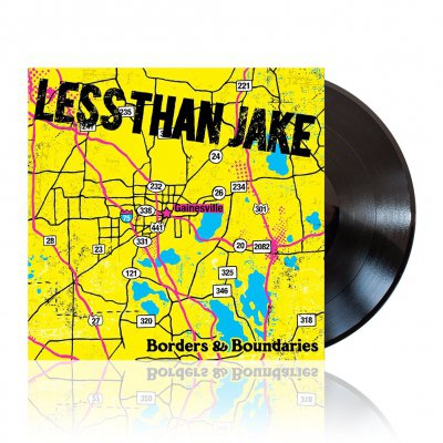Less Than Jake - Borders & Boundaries | Black Vinyl