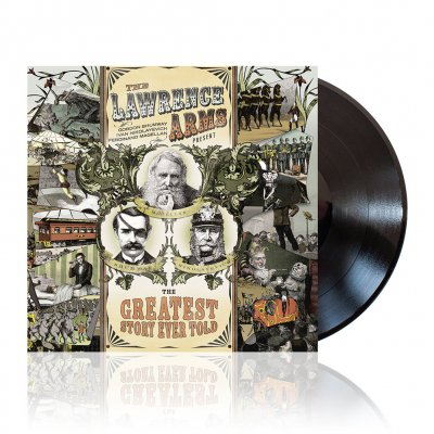 The Lawrence Arms - The Greatest Story Ever Told | Black Vinyl