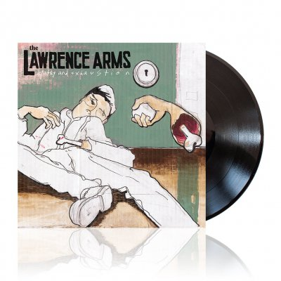The Lawrence Arms - Apathy And Exhaustion | Black Vinyl