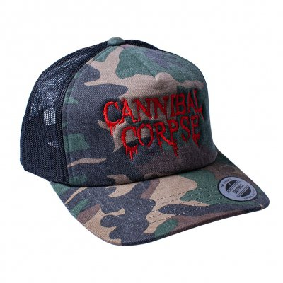 shop - Logo Camo| Trucker Cap