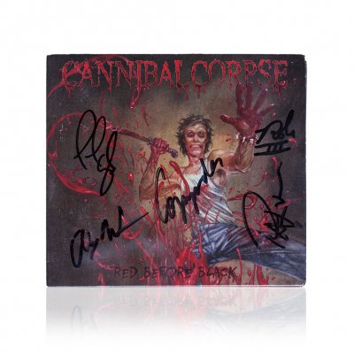 cannibal-corpse - Red Before Black | Signed Lim. Edition CD