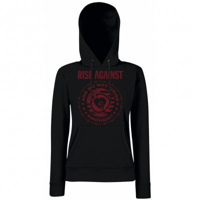 rise-against - Good Enough | Girl Hoodie