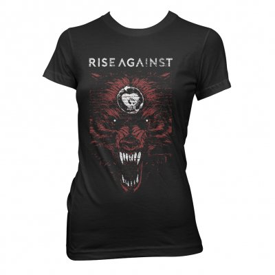 Rise Against - New Wolf | Fitted Girl T-Shirt