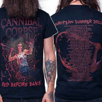 Cannibal Corpse - Red Before Black Summer 2018 | T-Shirt
