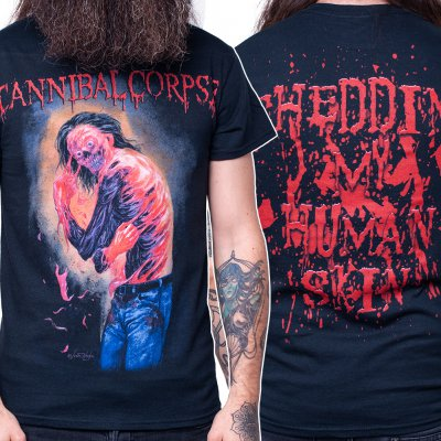 cannibal-corpse - Shedding My Human Skin | T-Shirt