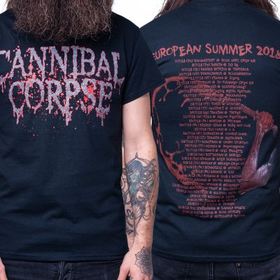 cannibal-corpse - Logo Summer Tour 2018 | T-Shirt