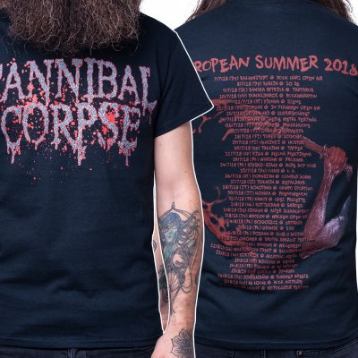 Cannibal Corpse - Logo Summer Tour 2018 | T-Shirt