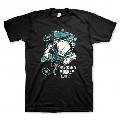 Mad Drunken Monkey Records - Dancing Monkey | T-Shirt